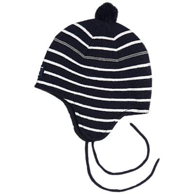 b54d50235d302c Polarn O. Pyret Baby Stripe Hat