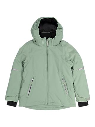 Polarn O. Pyret Children's Waterproof Padded Coat, Green