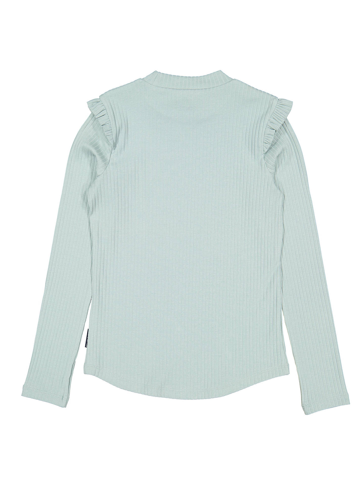 BuyPolarn O. Pyret Children's Ribbed Top, Green, 6-8 years Online at johnlewis.com