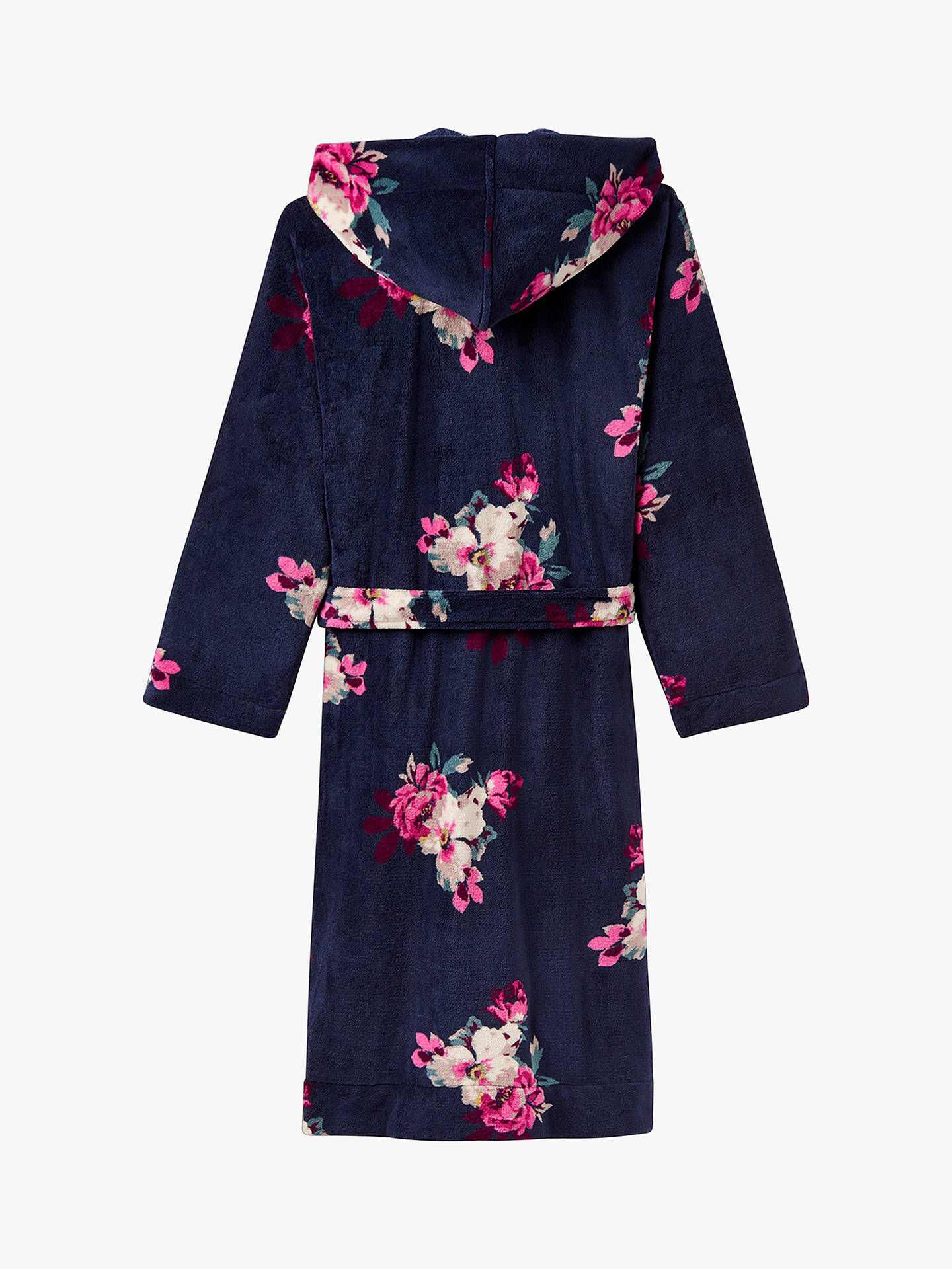 55573f82975 Buy Joules Rita Floral Print Fleece Dressing Gown