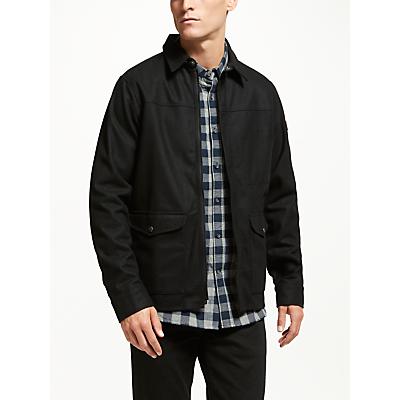 Fjällräven Greenland Re-Wool Shirt, Black