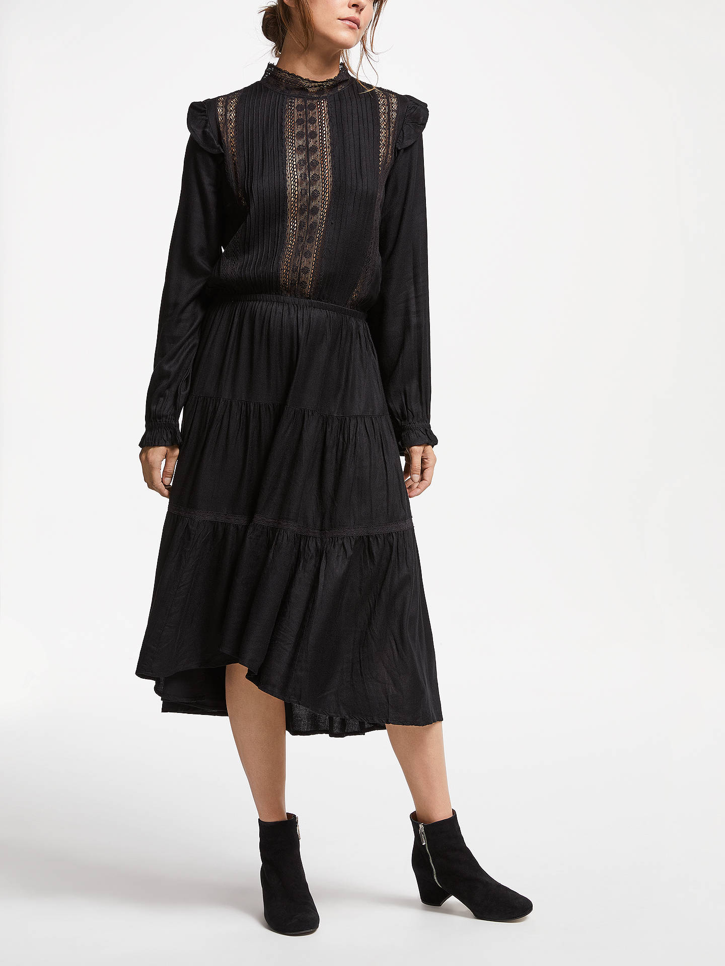 BuySwildens Tamtam Dress, Black, 8 Online at johnlewis.com