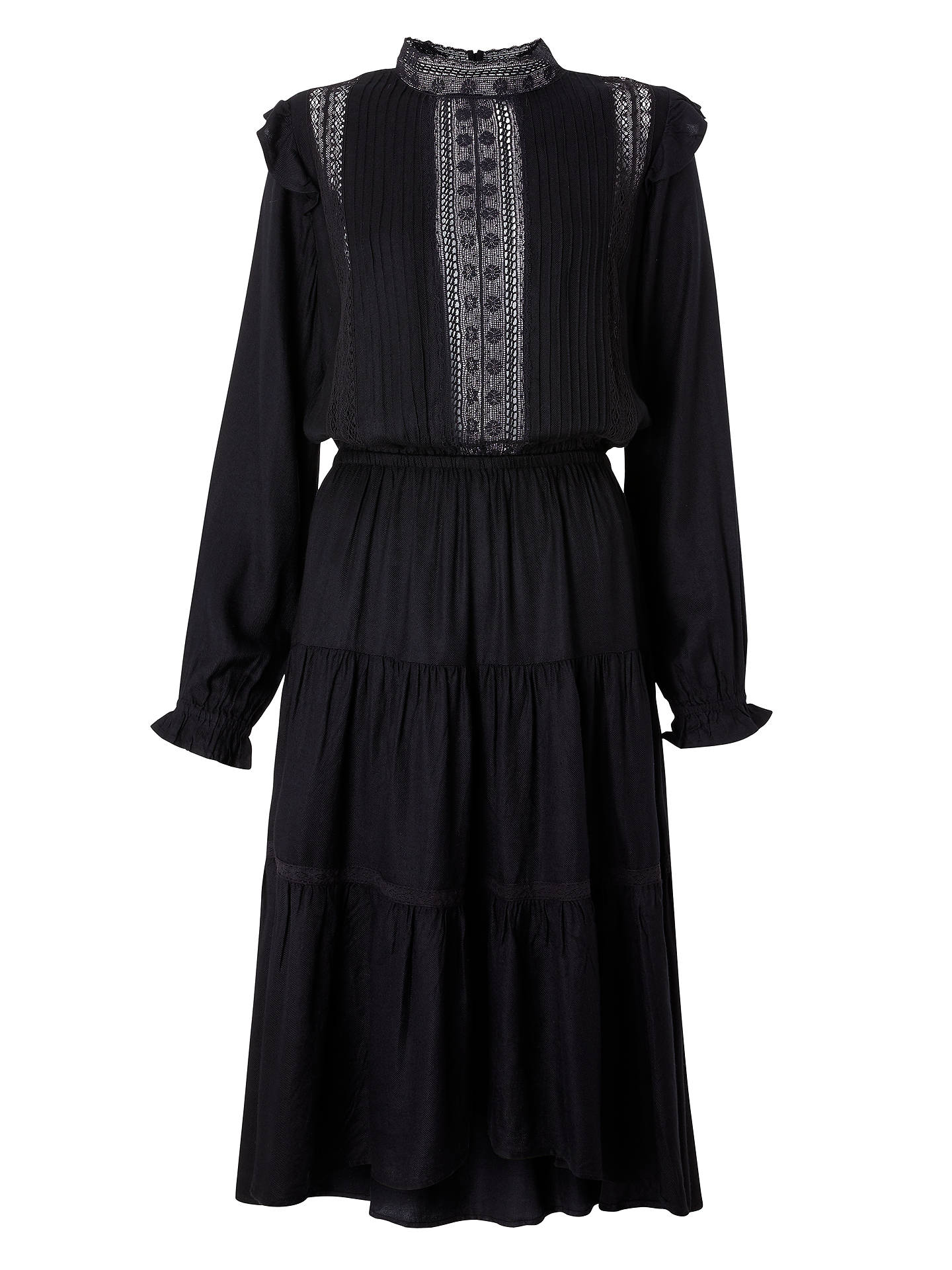 Buy Swildens Tamtam Dress, Black, 12 Online at johnlewis.com