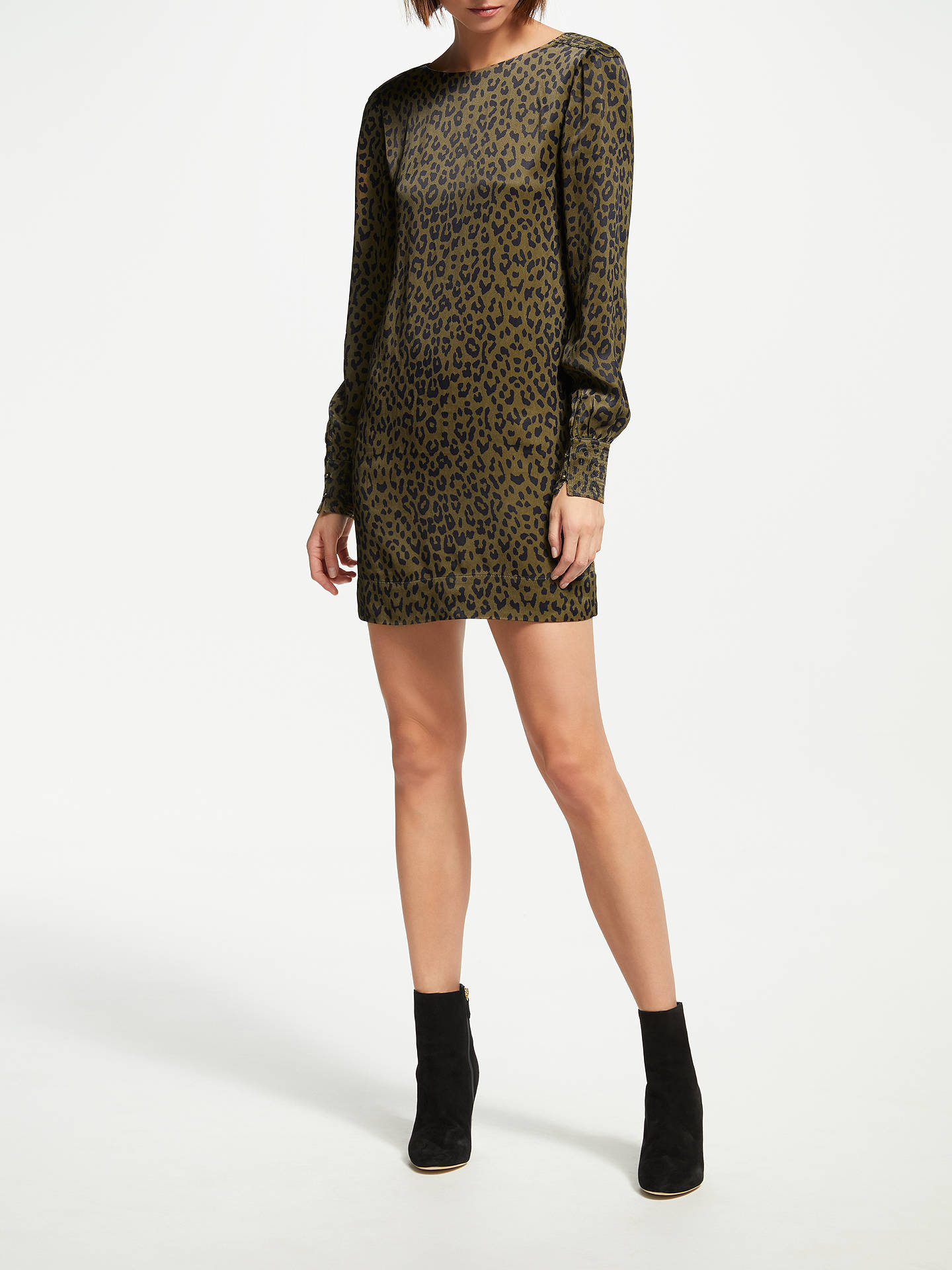 Buy Swildens Taylor Dress, Brown, 8 Online at johnlewis.com