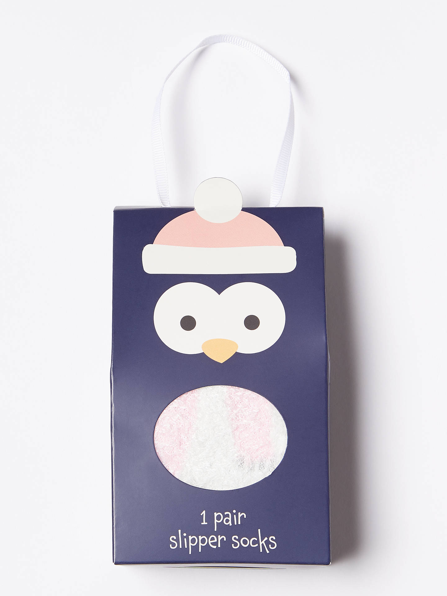 BuyJohn Lewis & Partners Children's Boxed Penguin Socks, Blue, 9-12 Jnr Online at johnlewis.com