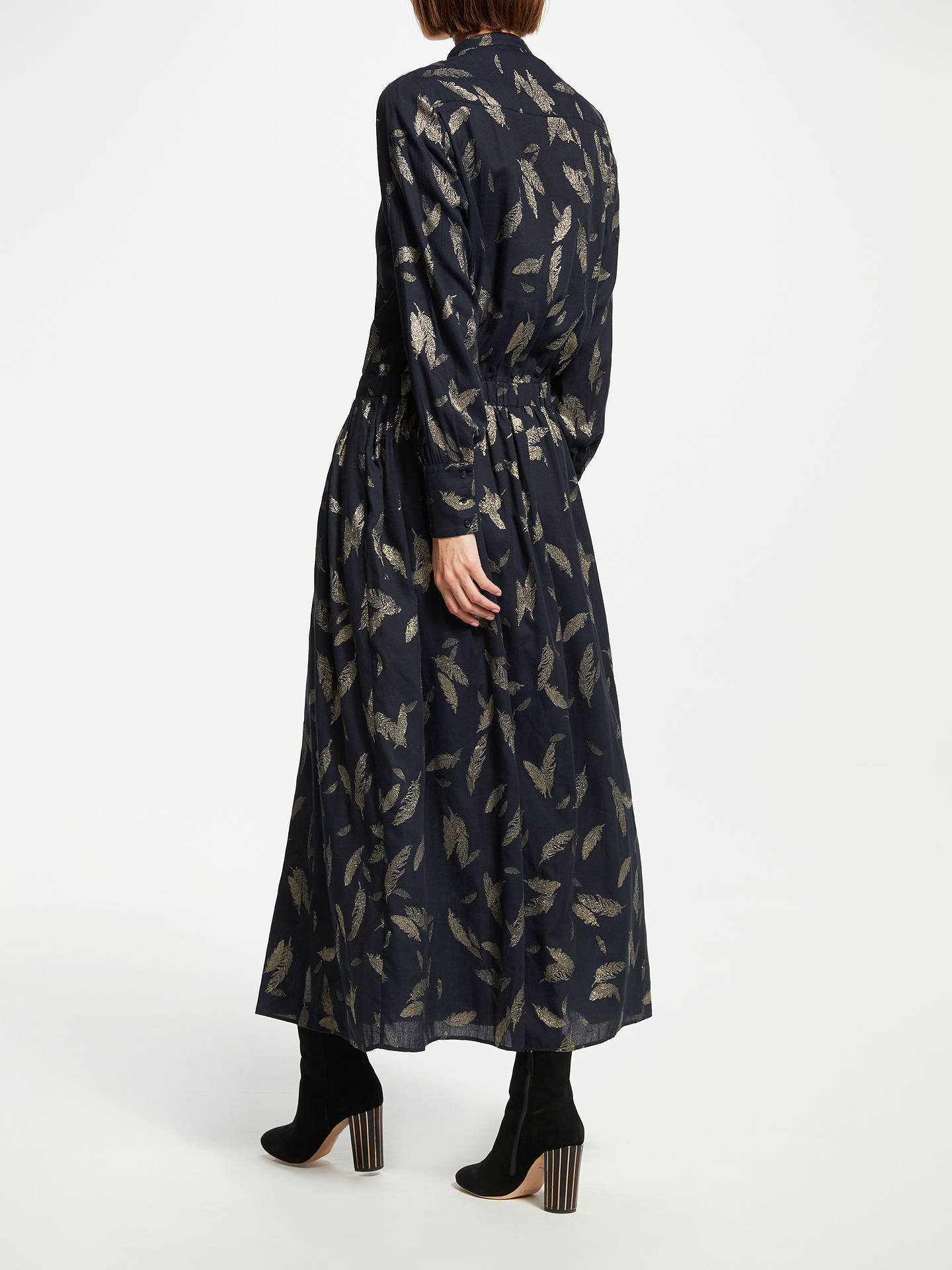 Buy Swildens Tailoire Maxi Dress, Black, 8 Online at johnlewis.com