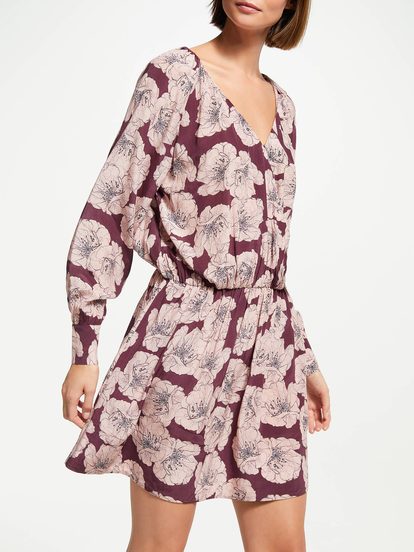Buy Swildens Tara Dress, Rose, 10 Online at johnlewis.com