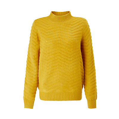 Y.A.S Beatrice Knitted Jumper, Yellow