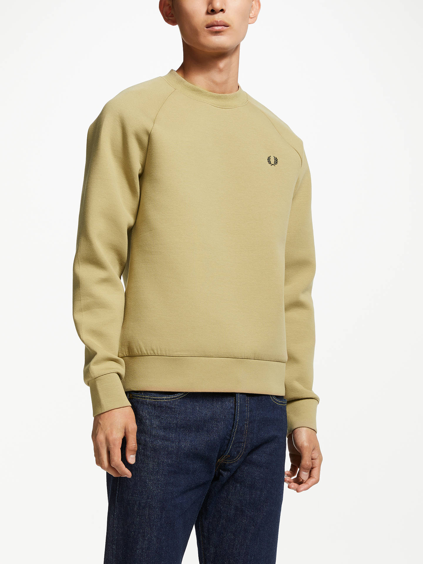 cdbf6e150e41 Buy Fred Perry Elmwood Interlock Crew Neck Sweatshirt