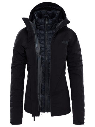 Buy The North Face Thermoball Triclimate Women's Jacket, Black, S Online at johnlewis.com