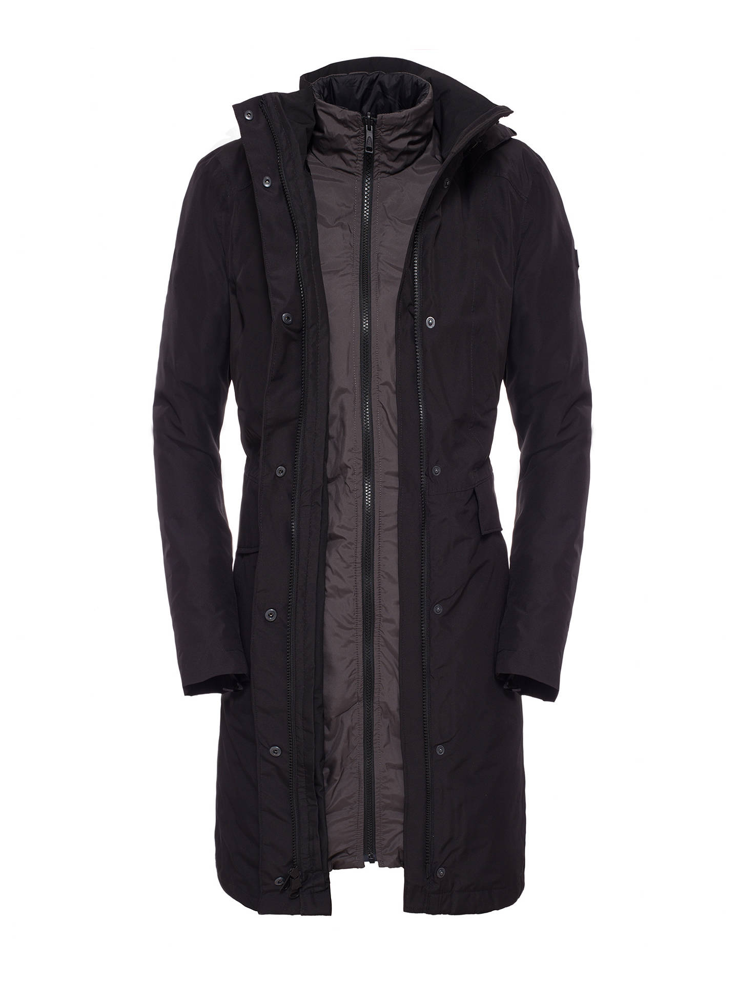 Buy The North Face Suzanne Triclimate Jacket, Black, XL Online at johnlewis.com