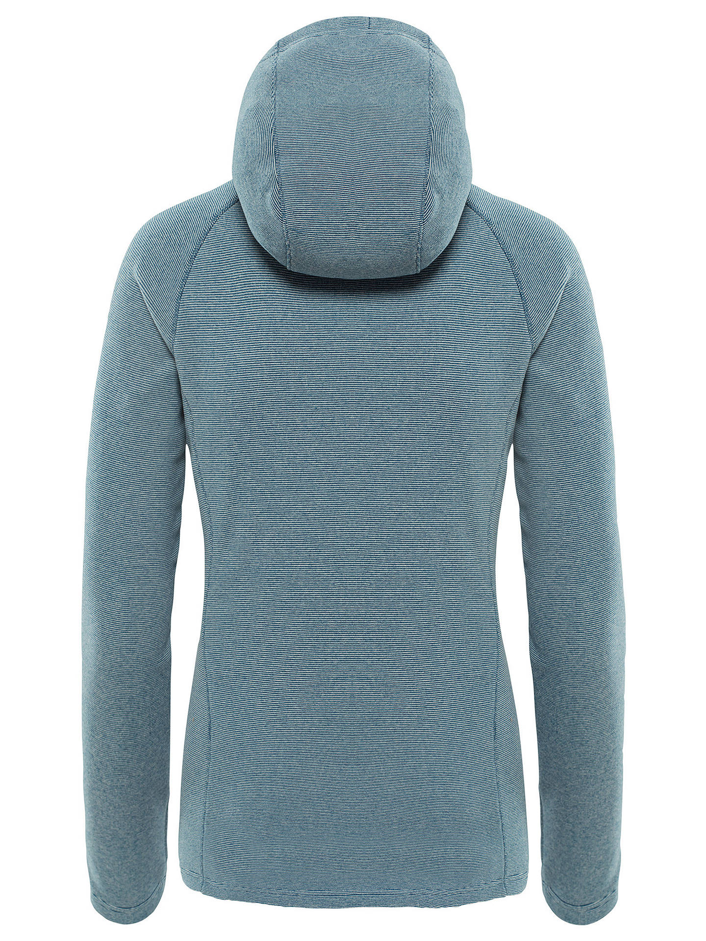 BuyThe North Face Mezzaluna Women's Hoodie, Rabbit Grey Stripe, S Online at johnlewis.com