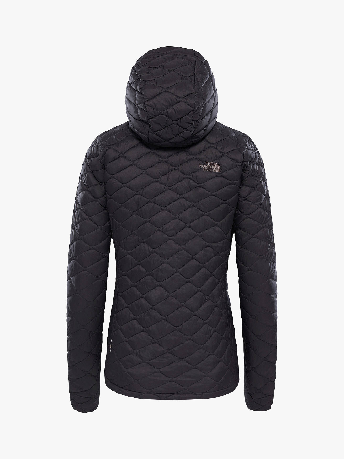 BuyThe North Face Thermoball Women's Hooded Jacket, Black, S Online at johnlewis.com