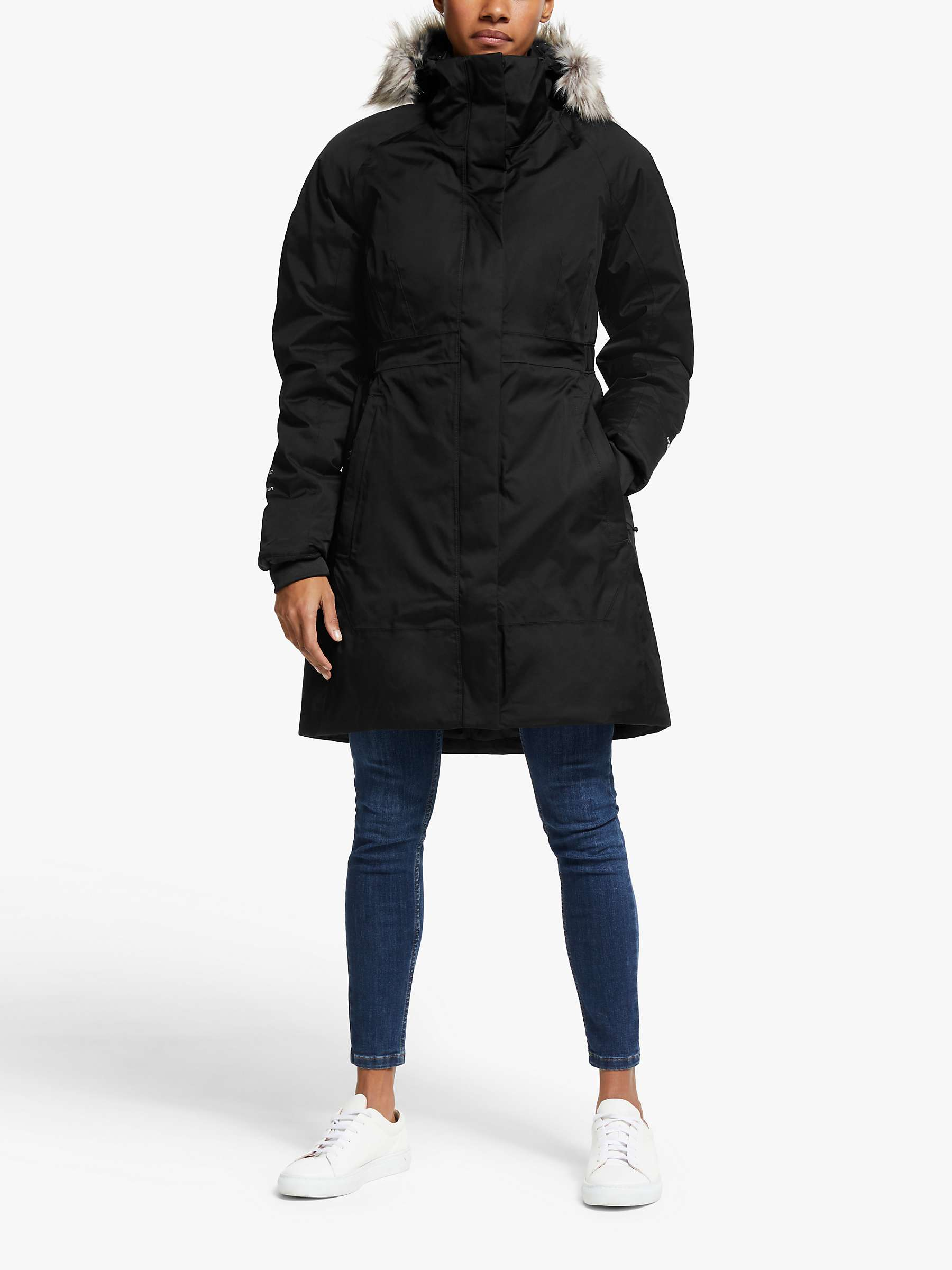 The North Face Arctic Women's Parka, Black by John Lewis
