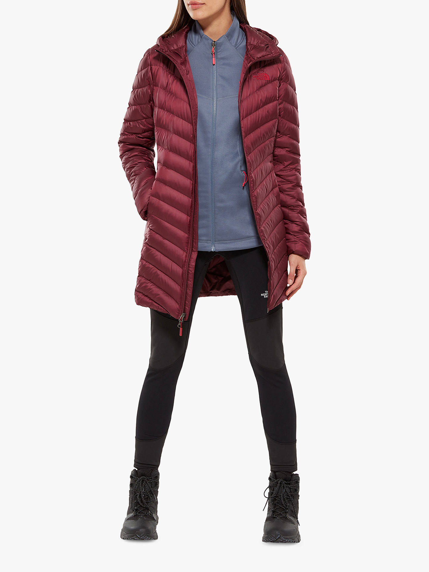 Buy The North Face Trevail Parka, Fig, M Online at johnlewis.com