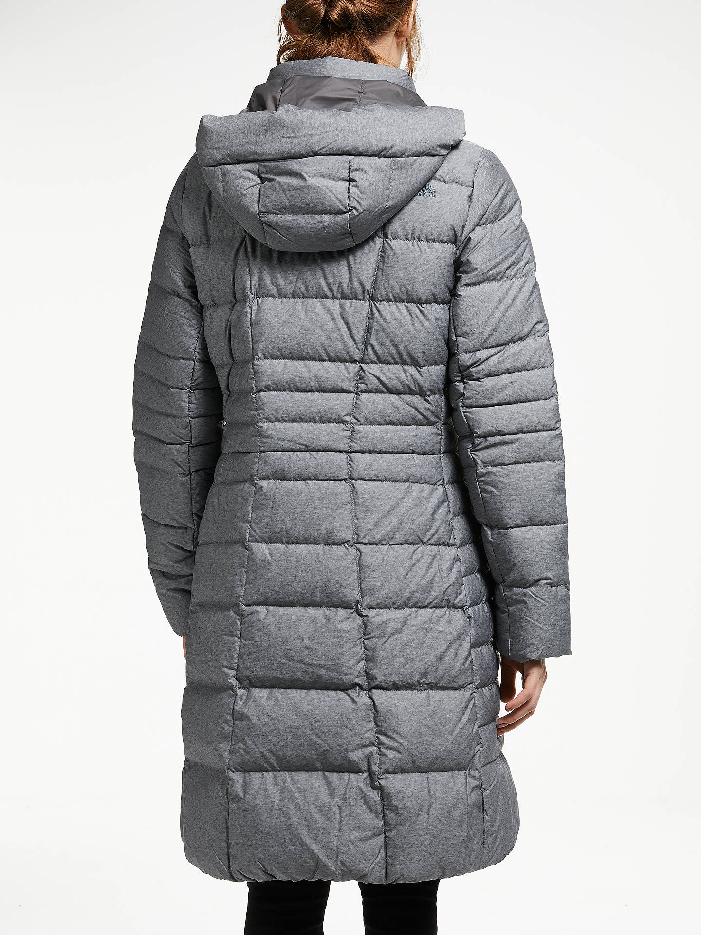 Buy The North Face Metro Women's Parka, Medium Grey Heather, S Online at johnlewis.com