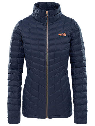 Buy The North Face Thermoball Full Zip Women's Jacket, Navy/Metallic Copper, XL Online at johnlewis.com
