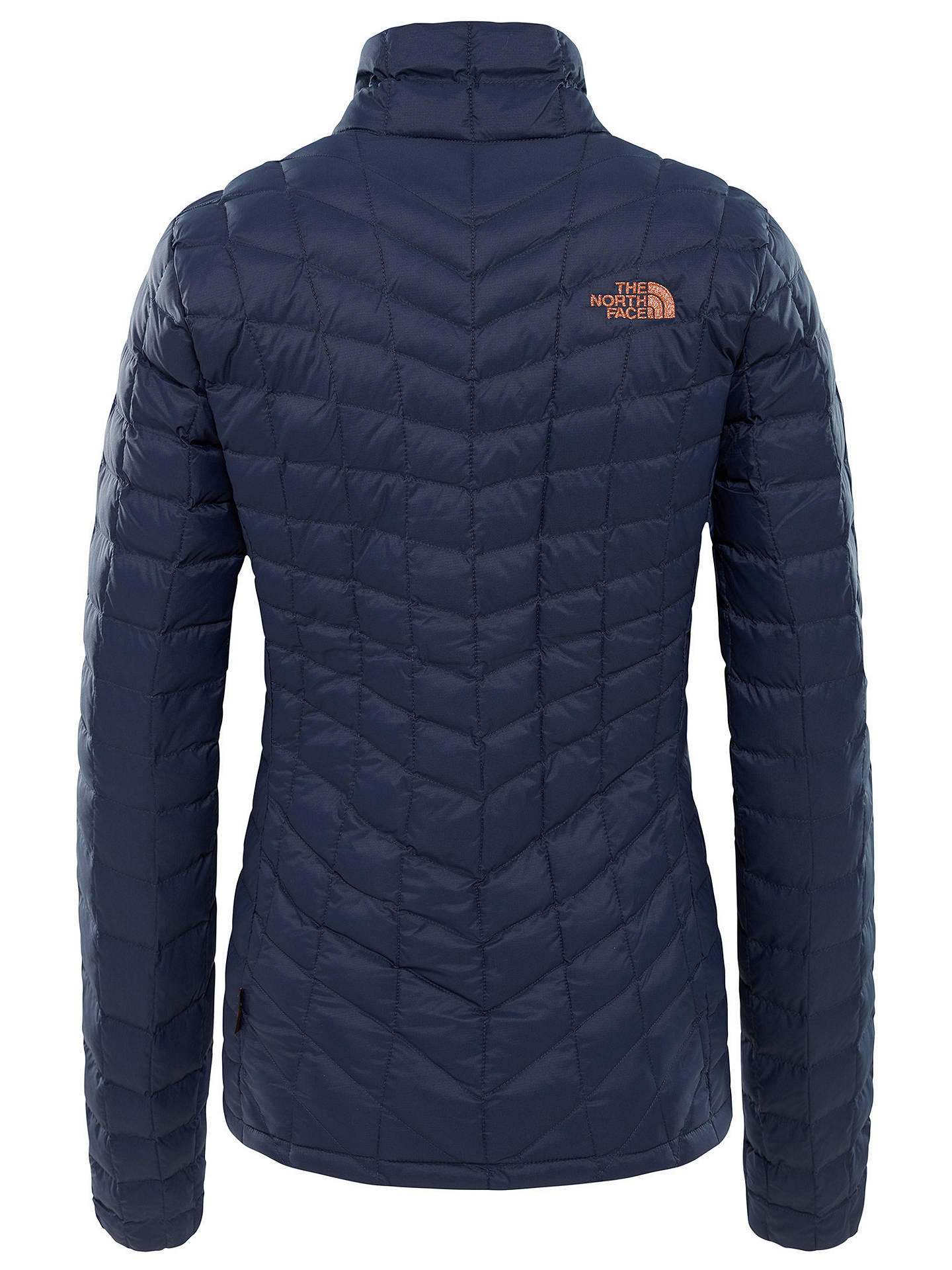 BuyThe North Face Thermoball Full Zip Women's Jacket, Navy/Metallic Copper, M Online at johnlewis.com