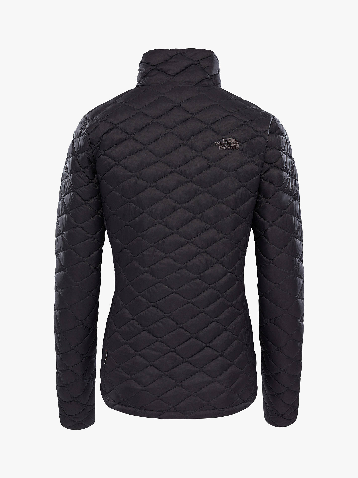 Buy The North Face Thermoball Quilted Full-Zip Women's Insulated Jacket, Black, S Online at johnlewis.com