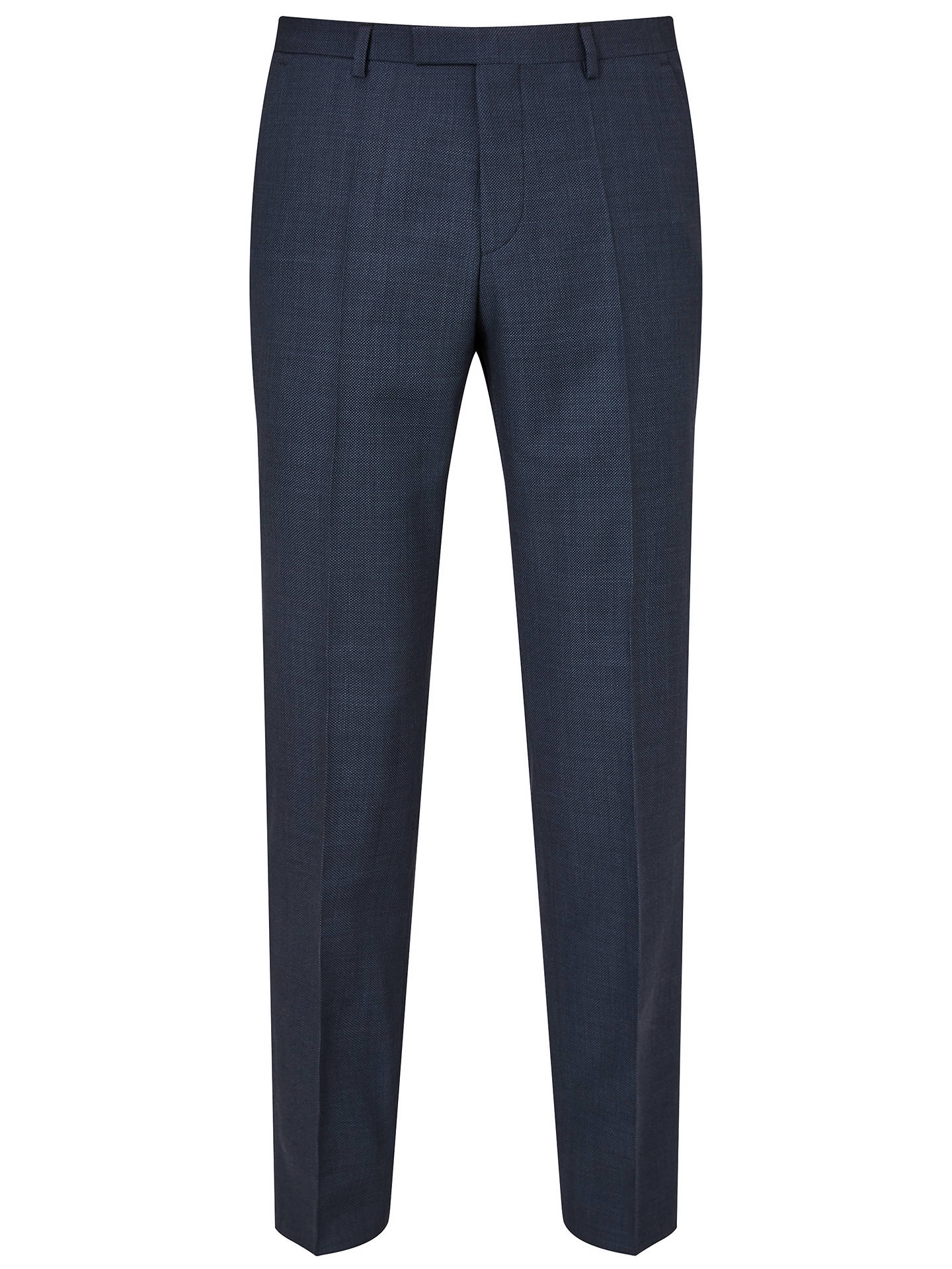 Buy HUGO by Hugo Boss Jeffery/Simmons Virgin Wool Regular Fit Suit, Navy, 44R Online at johnlewis.com