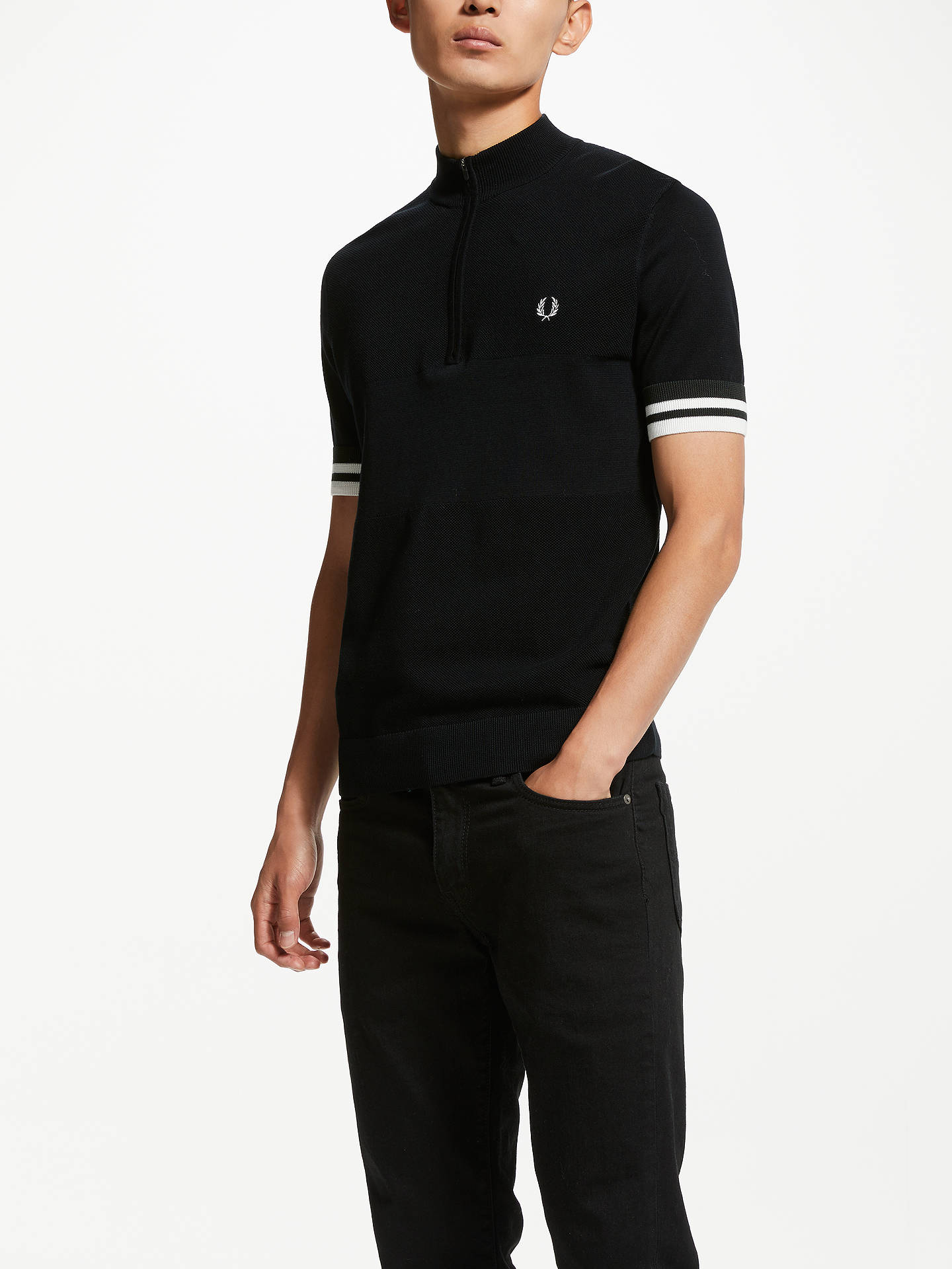 0c67178d0 Buy Fred Perry Zip Neck Polo Shirt