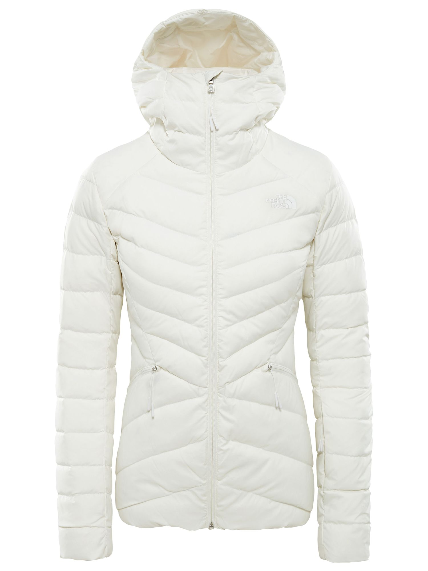 b07ea4c679729 The North Face Women's Moonlight Down Waterproof Ski Jacket, White at John  Lewis & Partners