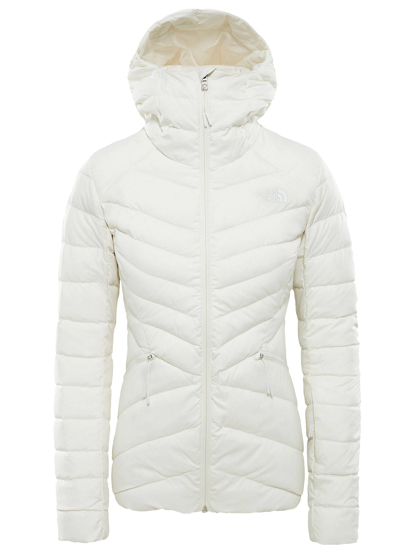 7198c08251402 Buy The North Face Women's Moonlight Down Waterproof Ski Jacket, White, XL  Online at ...
