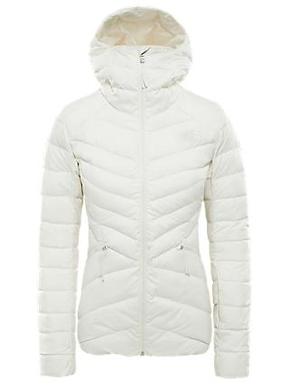 The North Face Women's Moonlight Down Waterproof Ski Jacket, White