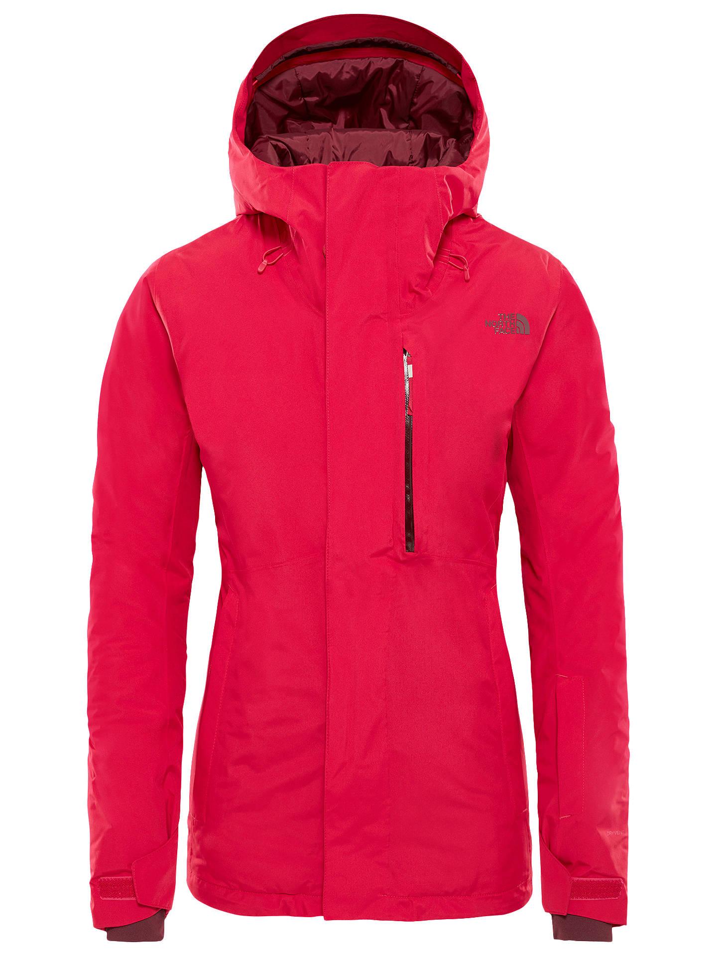 78a7469dc The North Face Descendit Women's Waterproof Ski Jacket, Cerise Pink ...