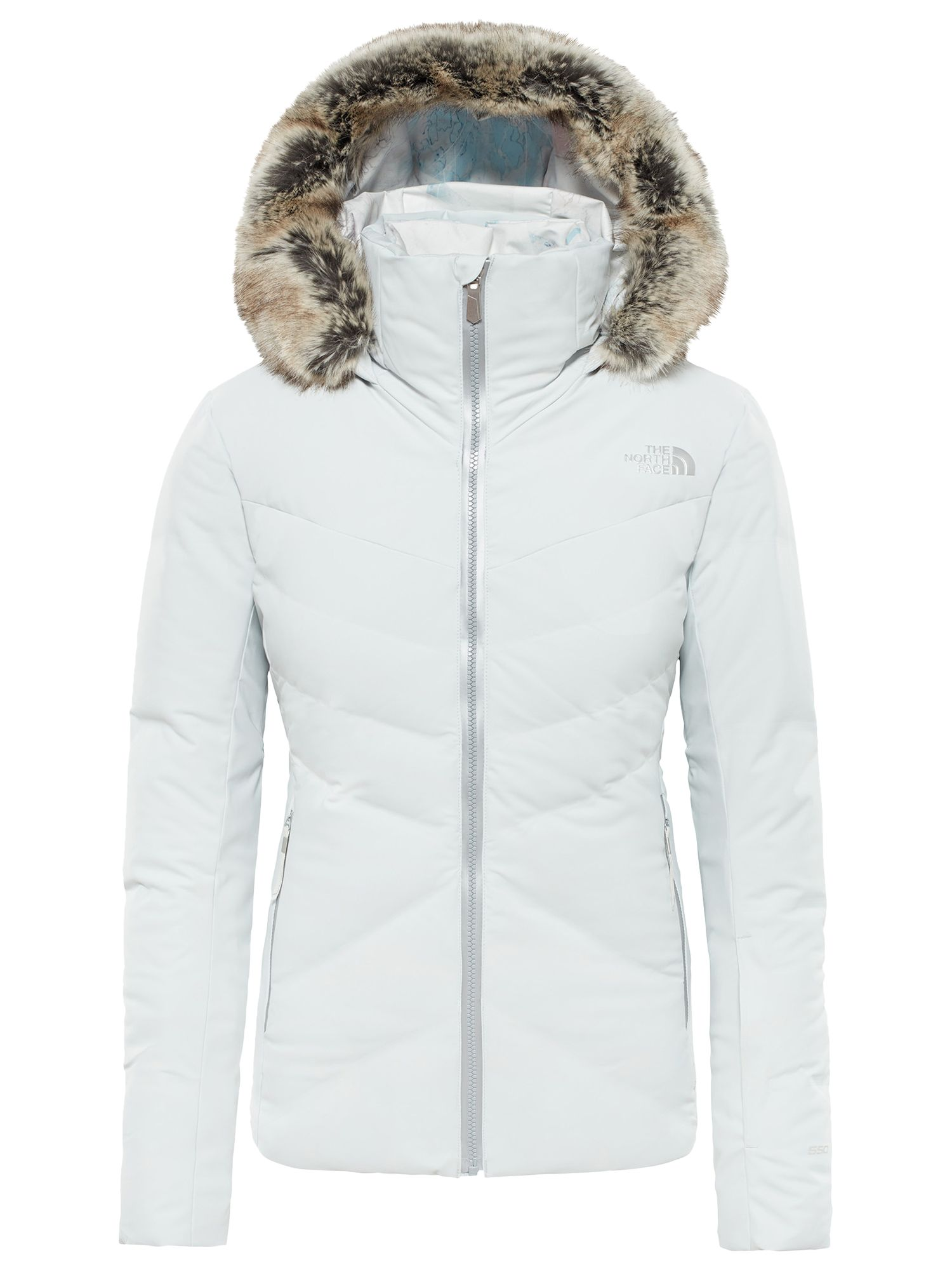 3665ccefb The North Face Women's Cirque Down Ski Jacket, Tin Grey at John ...
