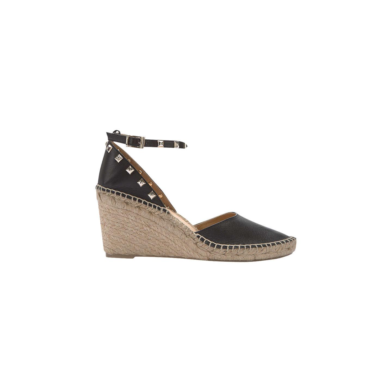 ac2cc9e60ef Velvet Orla Leather Espadrilles Wedge Mint Black Heel dC6q5T ...