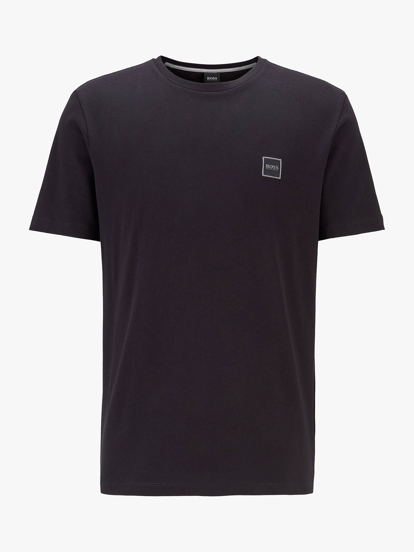 BuyBOSS Tales Short Sleeve T-Shirt, Black, S Online at johnlewis.com