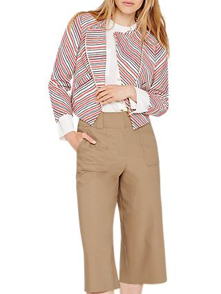 Damsel in a Dress Harri Tweed Crop Jacket, Multi