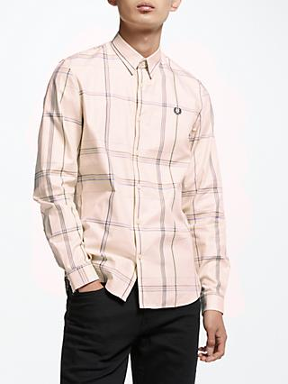 Fred Perry Long Sleeve Large Check Shirt