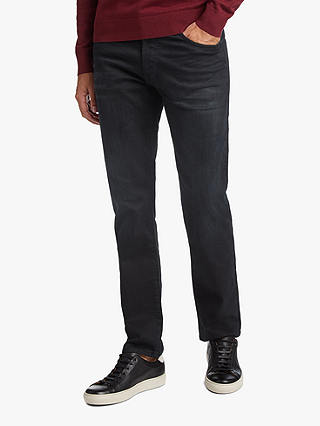 Buy BOSS Maine Jeans, Dark Blue, 34S Online at johnlewis.com