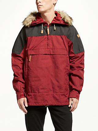 Fjällräven Singi Parka Anorak, Red Oak/Dark Grey