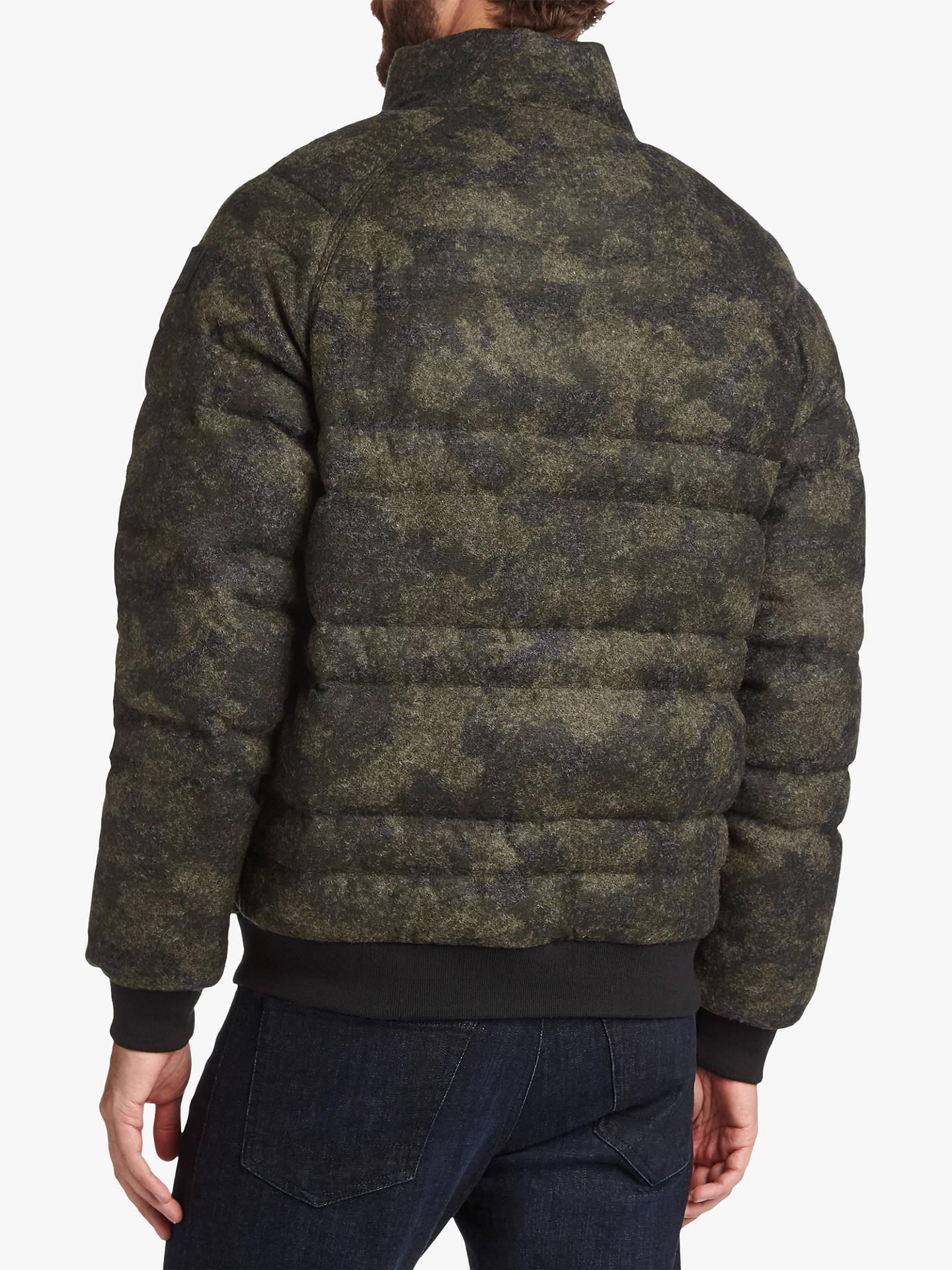 77c884e15 BOSS Ocamo Puffer Jacket, Dark Green at John Lewis & Partners