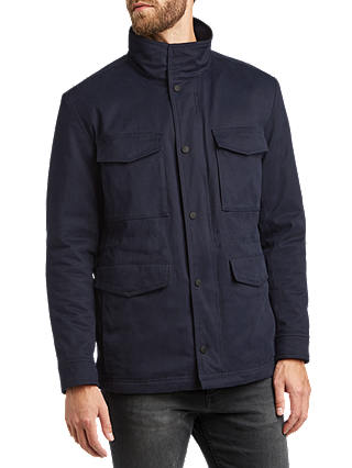 Buy BOSS Oroy Jacket, Dark Blue, 38R Online at johnlewis.com
