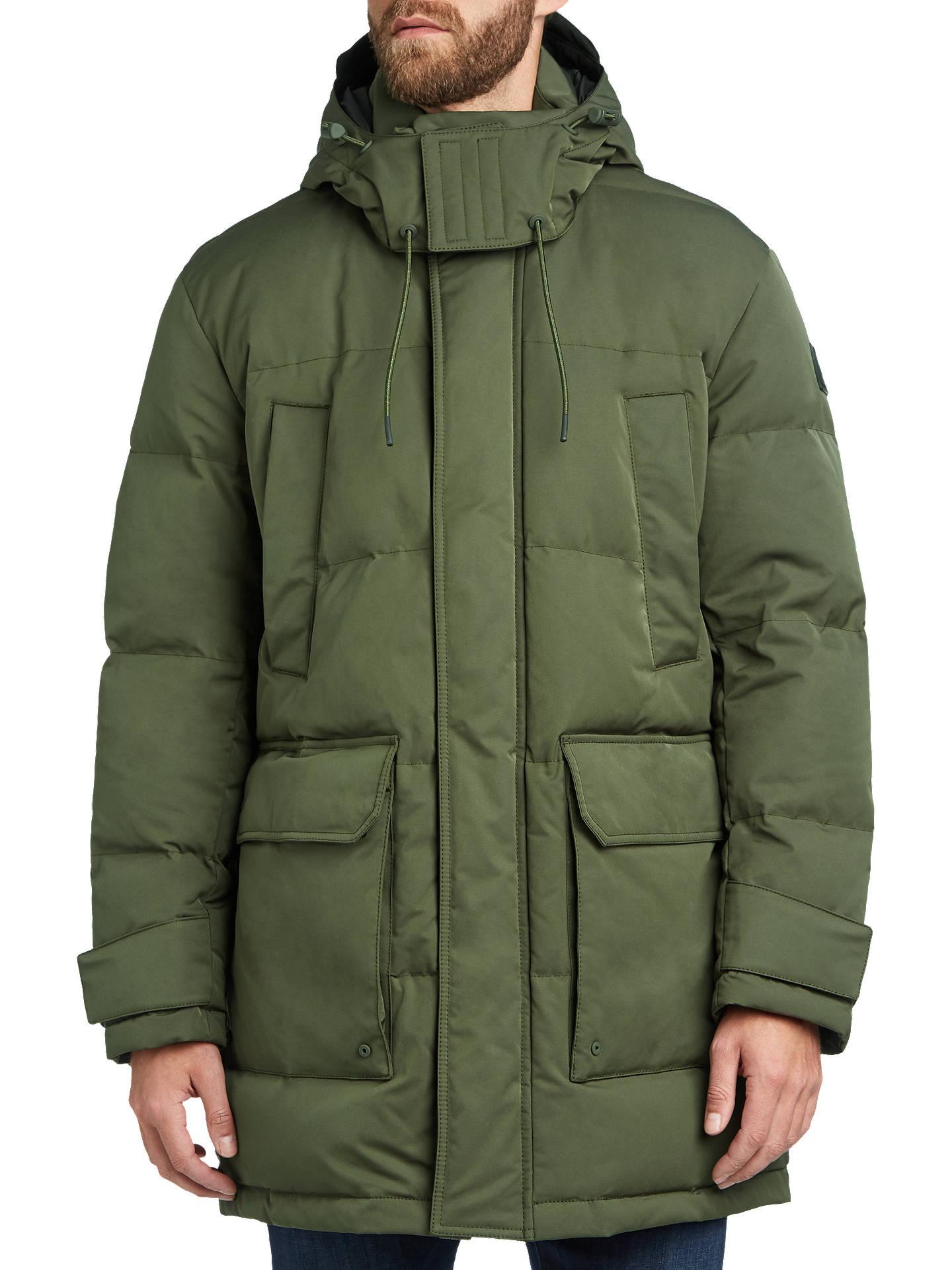 38b4a07af8c Buy BOSS Onek Jacket, Dark Green, 38R Online at johnlewis.com ...