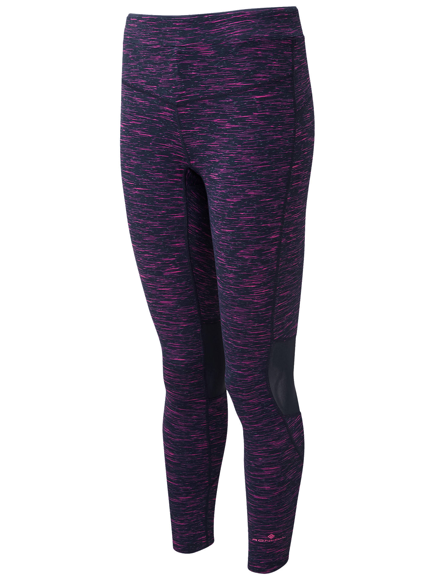 BuyRonhill Infinity Running Tights, Deep Navy/Azalea, 12 Online at johnlewis.com