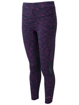 Ronhill Infinity Running Tights, Deep Navy/Azalea