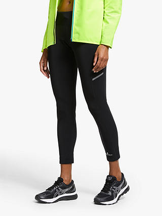 Buy Ronhill Winter Shield Running Leggings, All Black, 8 Online at johnlewis.com