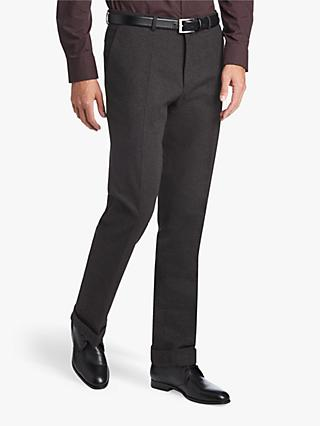 HUGO by Hugo Boss Higgins Textured Extra Slim Fit Trousers, Charcoal