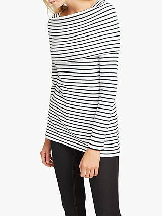 77980ef8c60 French Connection Stripe Bardot Jumper