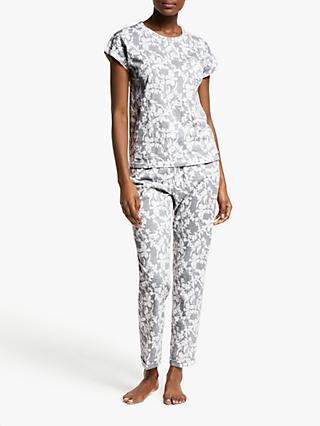 John Lewis   Partners Milly Floral Cotton Pyjama Set 4ac4cafd7
