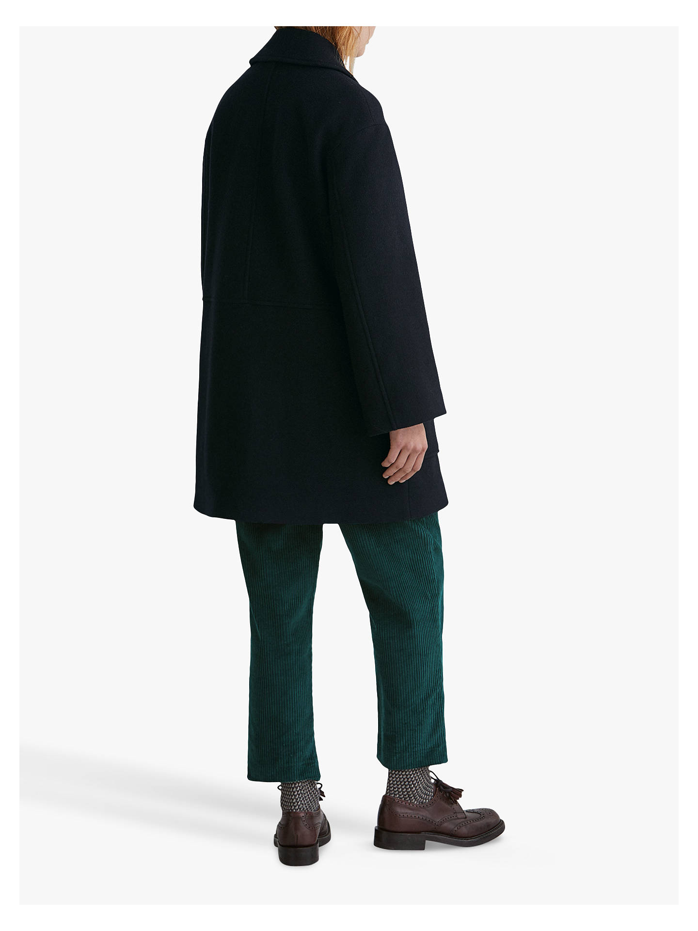 Buy Toast Wool Peacoat, Dark Navy, 16 Online at johnlewis.com