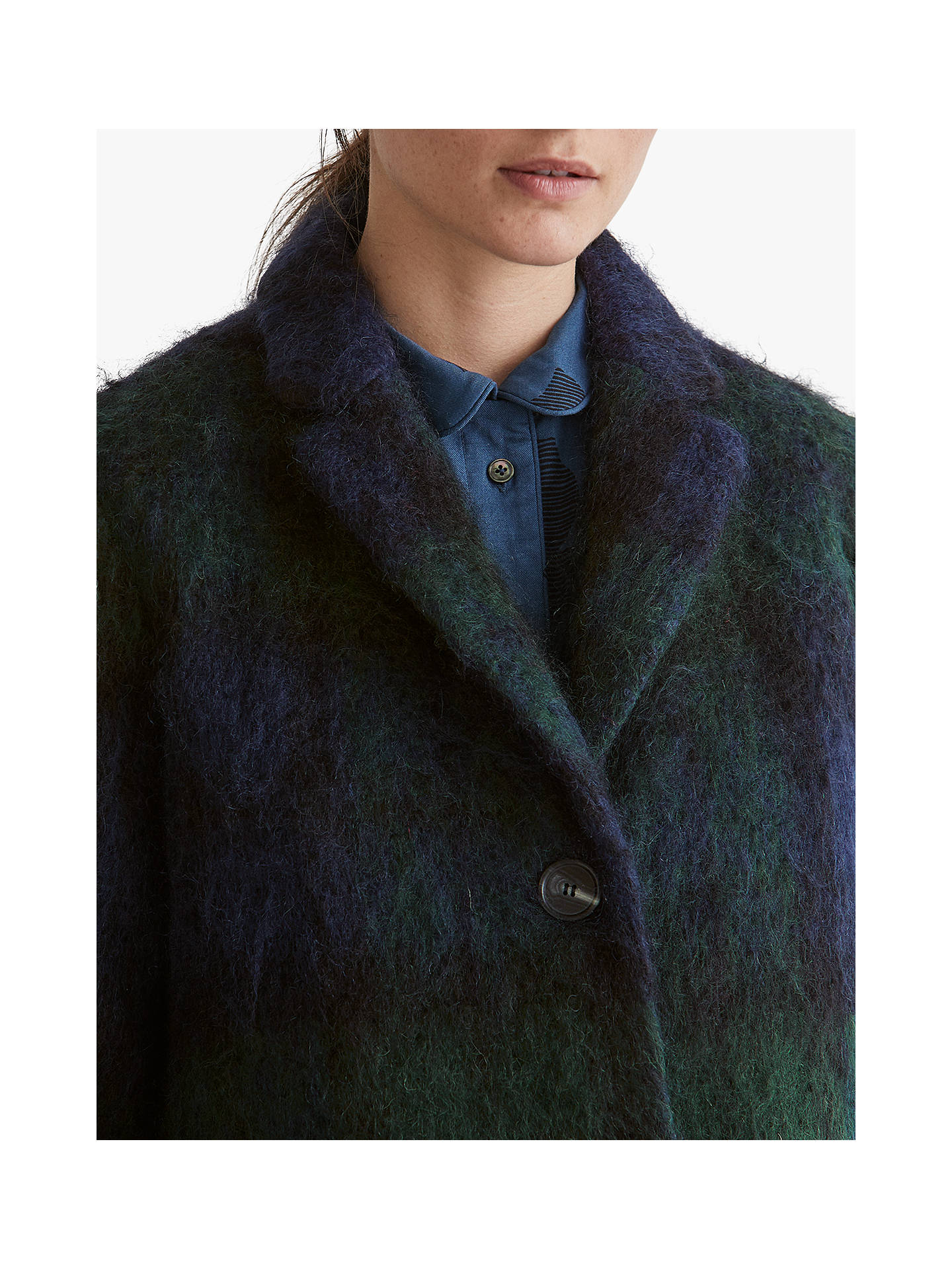BuyToast Blackwatch Check Coat, Multi, 8 Online at johnlewis.com