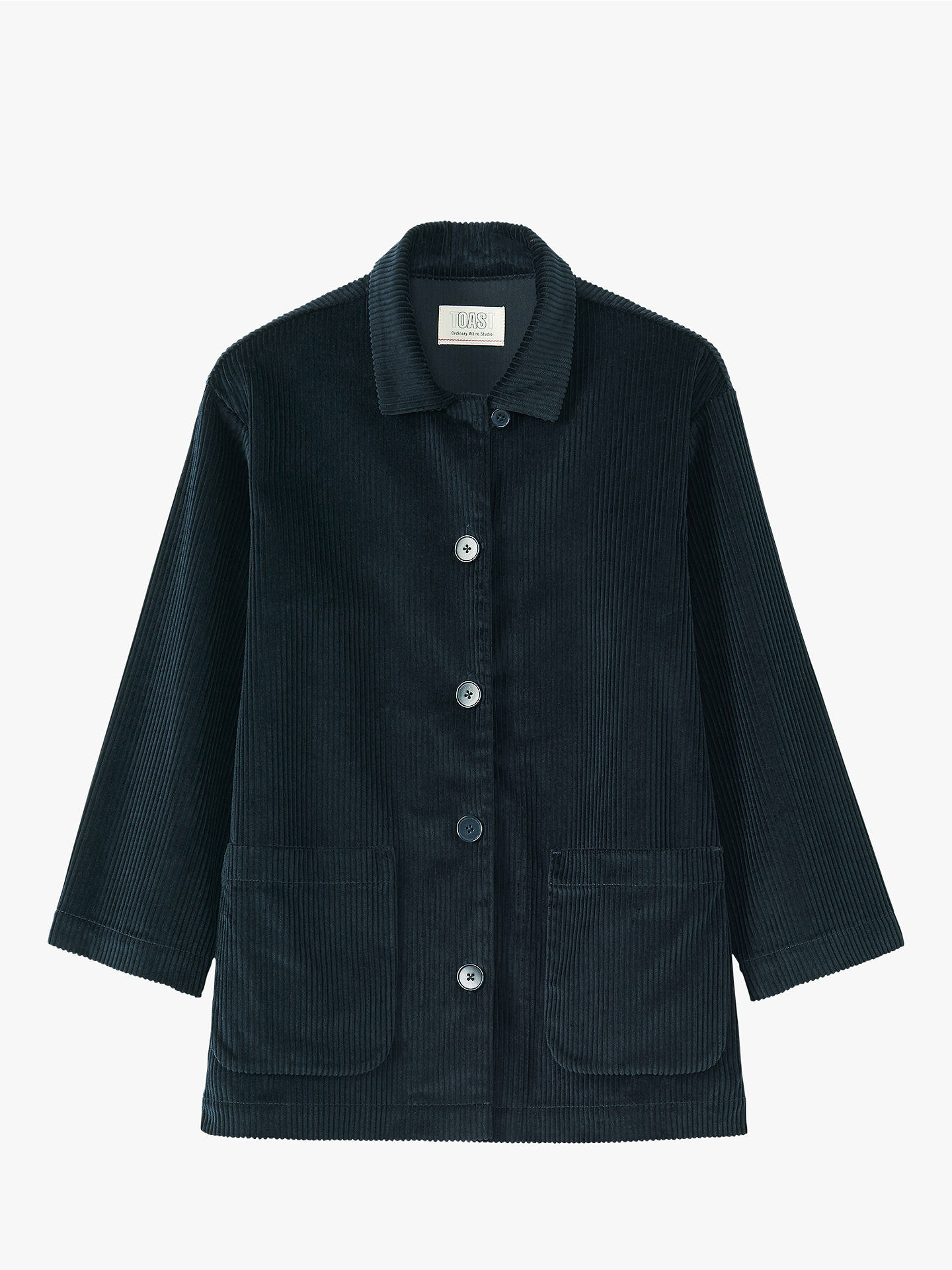 BuyToast Cotton Cord Jacket, Anthracite Blue, 14 Online at johnlewis.com