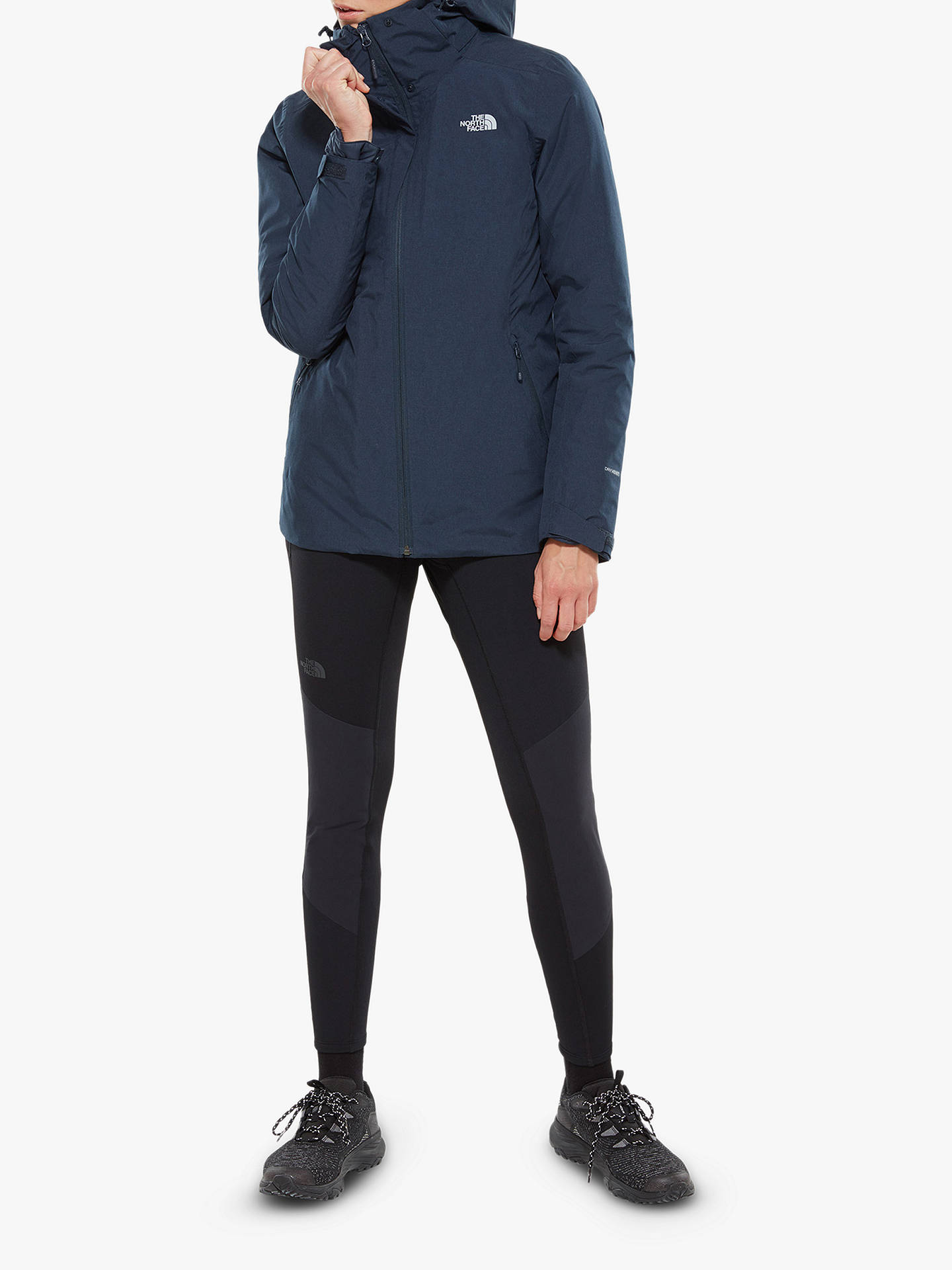 Buy The North Face Inlux Triclimate Women's Waterproof Jacket, Urban Navy, M Online at johnlewis.com