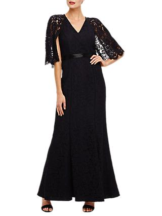 Phase Eight Cianna Lace Dress, Black